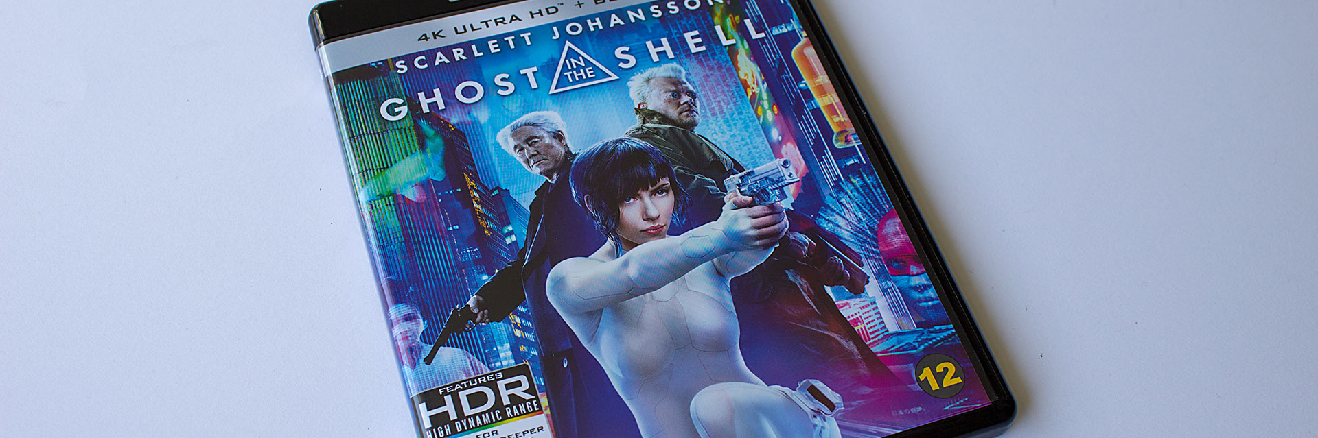 Ghost in the Shell (2017) 4K Ultra HD Blu-ray -arvostelu
