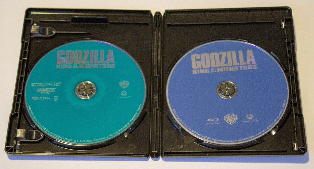 Godzilla: King of the Monsters discs